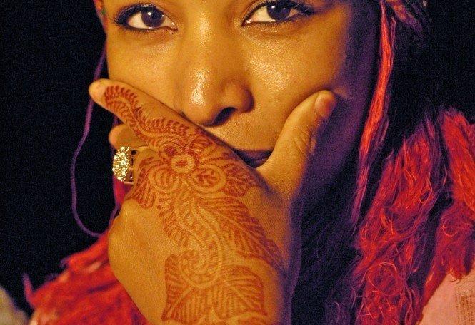 Reise in Marokko, Berberfrau