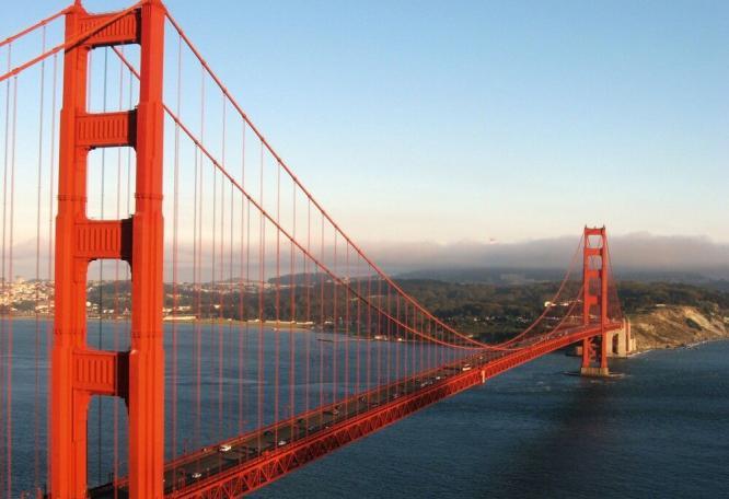 Reise in Vereinigte Staaten von Amerika, Golden Gate Bridge, San Francisco