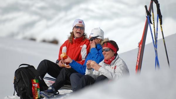 Reise in Norwegen, Skitour Peer Gynt