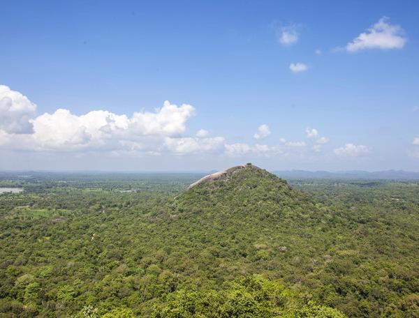 Reise in Sri Lanka, Panoramablick