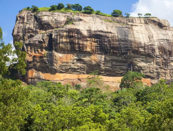 Reise in Sri Lanka, Monolith von Sigiriya