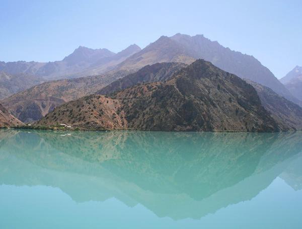 Reise in Tadschikistan, Iskanderkul-See in Tadschikistan