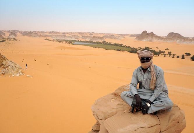 Reise in Tschad, Aussichtspunkt Boukou
