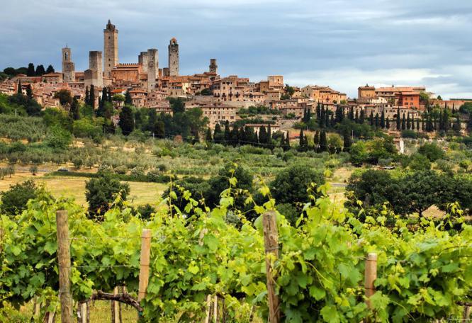 Reise in Italien, San Gimignano – die Stadt der 1.000 Türme