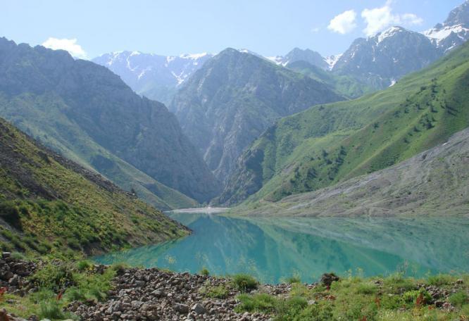 Reise in Usbekistan, Wanderung in den Chimgan-Bergen