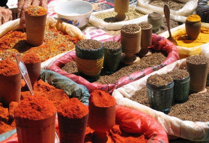 Reise in Usbekistan, Marktbesuch Taschkent