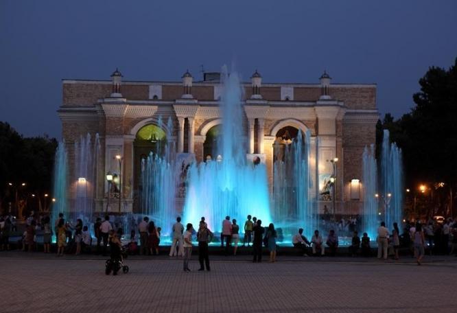 Reise in Usbekistan, Navoi Theater in Taschkent