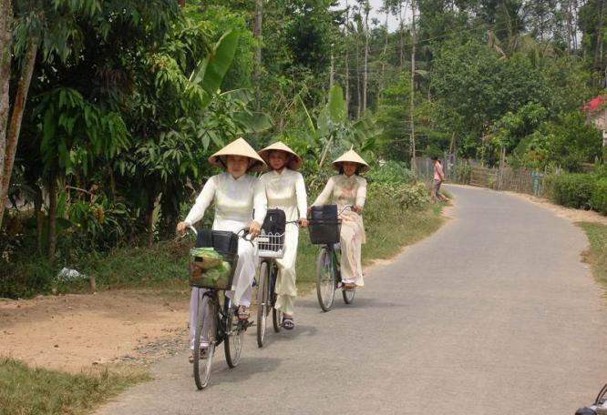 Reise in Vietnam, Radtour durch Vietnam
