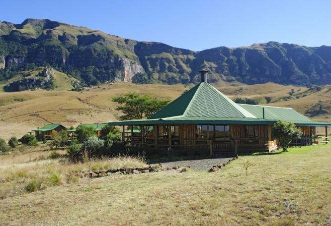 Reise in Südafrika, Greenfire Lodge Drakensberg