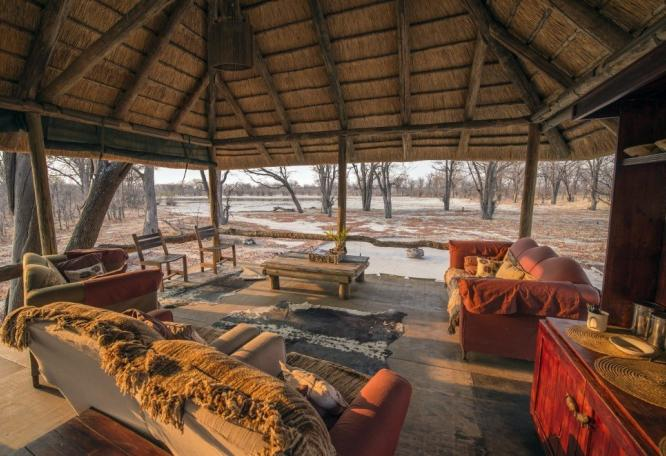 Reise in Botswana, Hyena Pan Tented Camp