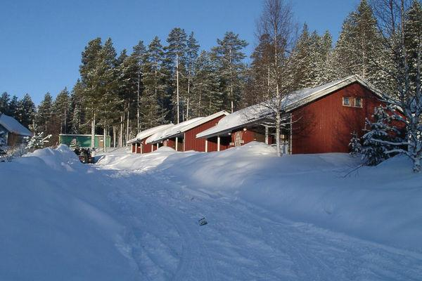Reise in Schweden, Wintercamp Idre