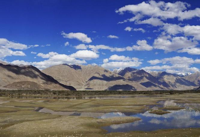 Reise in Indien, Ladakh Nubra Valley Chumik Yogma