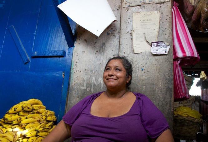 Reise in Nicaragua, Auf dem Markt in Granada unterwegs