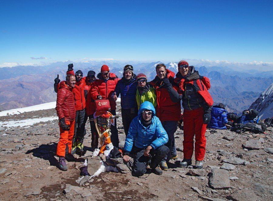 Reise in Argentinien, Aconcagua