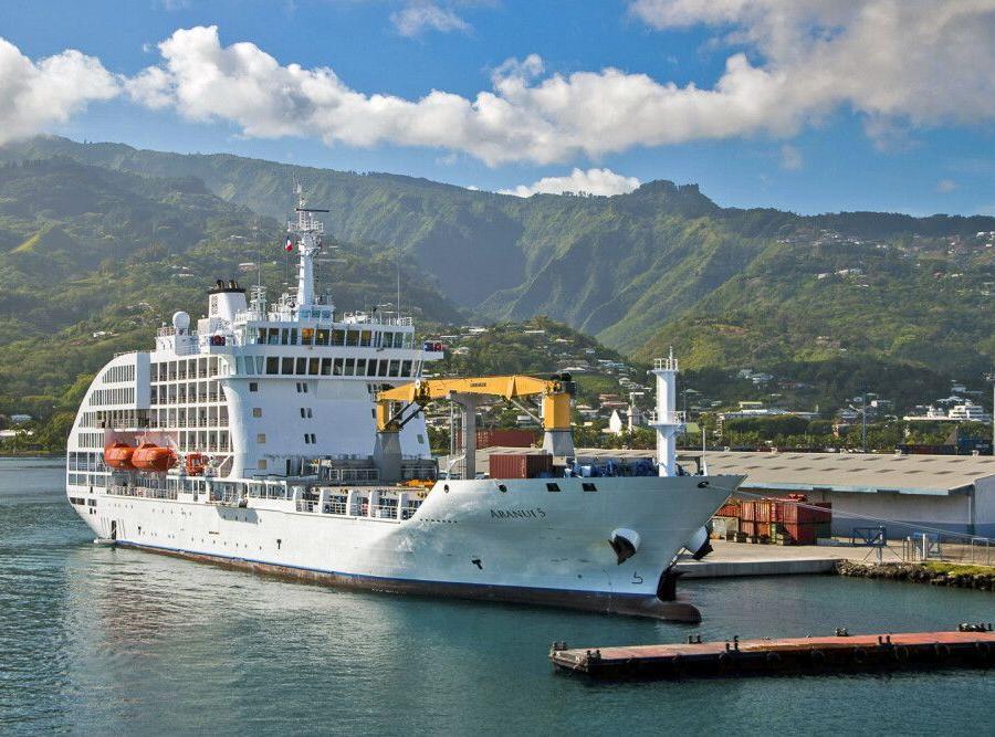 Reise in Französisch-Polynesien, Aranui V