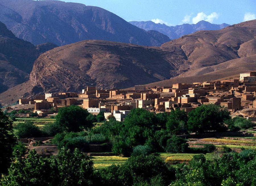 Reise in Marokko, Tal der Strasse der Kasbahs