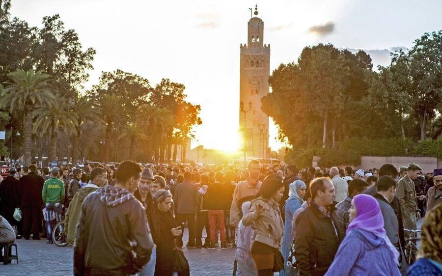 Reise in Marokko, Koutoubia Moschee in Marrakesch
