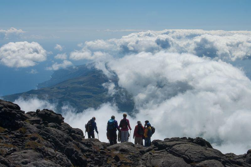 Reise in Portugal, Nach der Wanderung auf den Pico erwarten uns traumhafte Aussichten