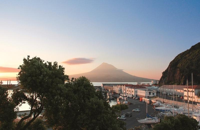 Reise in Portugal, Sonnenuntergang auf Faial