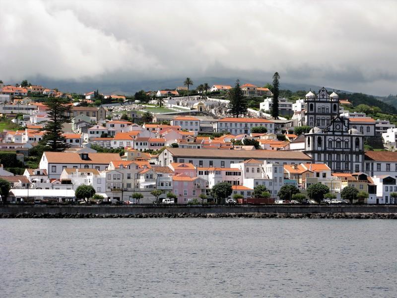 Reise in Portugal, Horta vom Meer