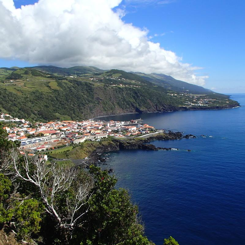 Reise in Portugal, Velas auf São Jorge