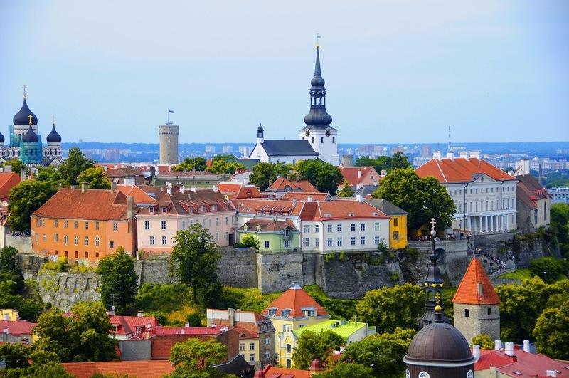 Reise in Estland, Baltikum- Estland - Tallinn