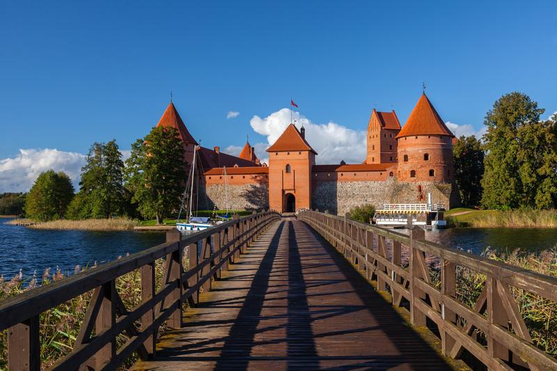 Reise in Estland, Burg von Trakai