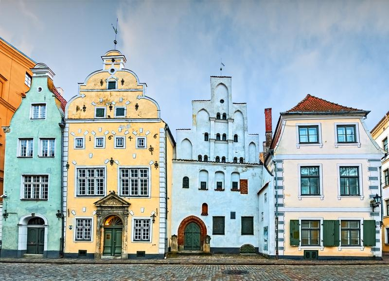 Reise in Estland, Lettland - Riga