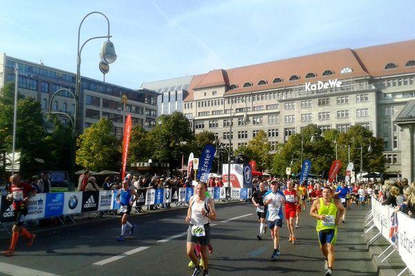 Reise in Deutschland, Berlin-Marathon