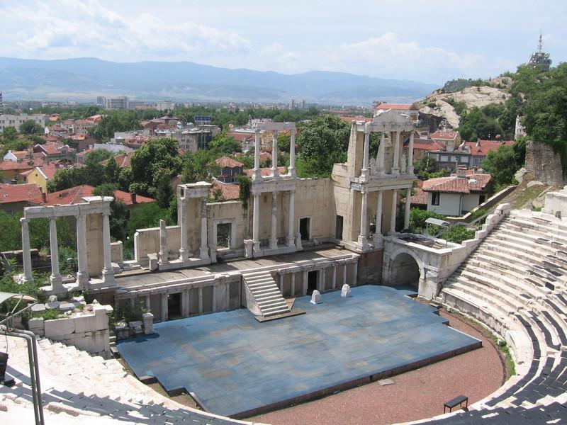 Reise in Bulgarien, Römisches Theater in Plovdiv