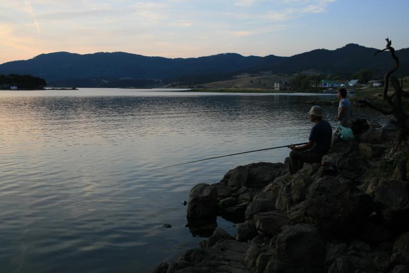 Reise in Bulgarien, Stausee Dospat - Rhodopen