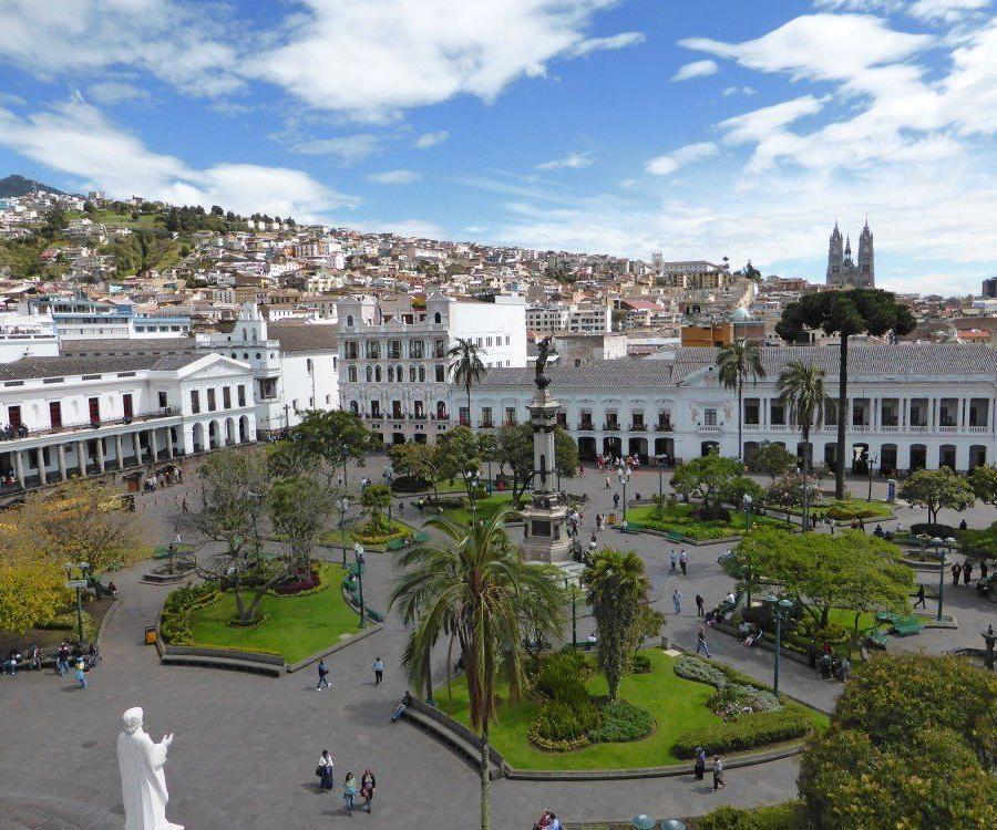 Reise in Ecuador, Straße der Vulkane