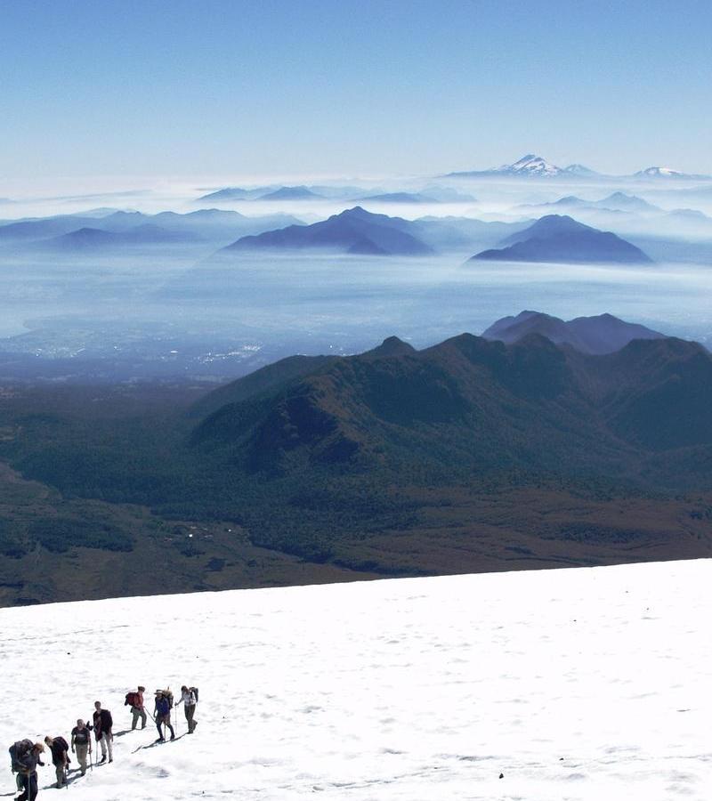 Reise in Chile, Grandiose Vulkanwelt am Villarica