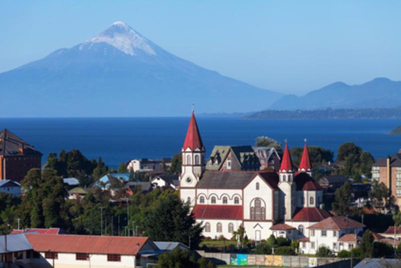Reise in Chile, Puerto Varas im Seengebiet Chiles