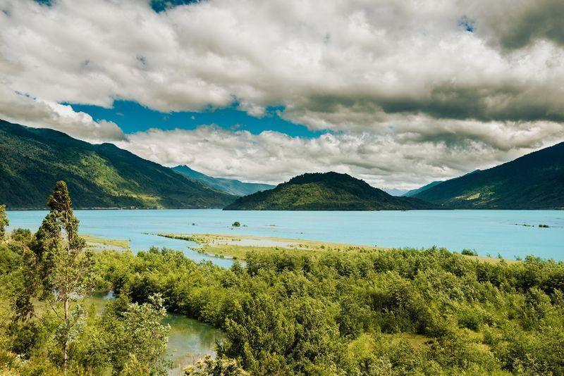 Reise in Chile, Kajak-Ausflug am Reloncaví Fjord