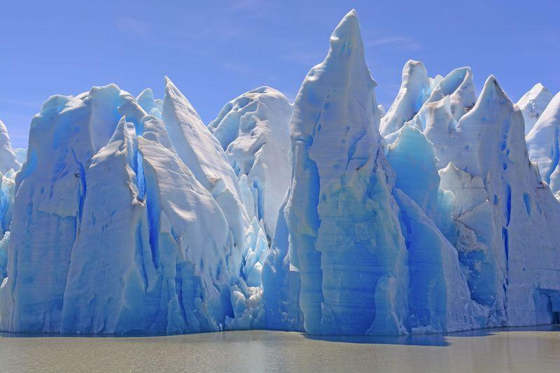Reise in Chile, Grey Gletscher im Torres del Paine Nationalpark