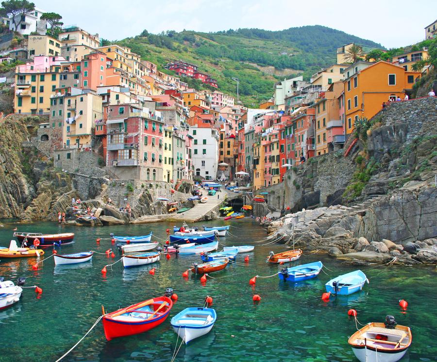 Reise in Italien, Cinque Terre: Panoramawandern am Meer & im Nationalpark