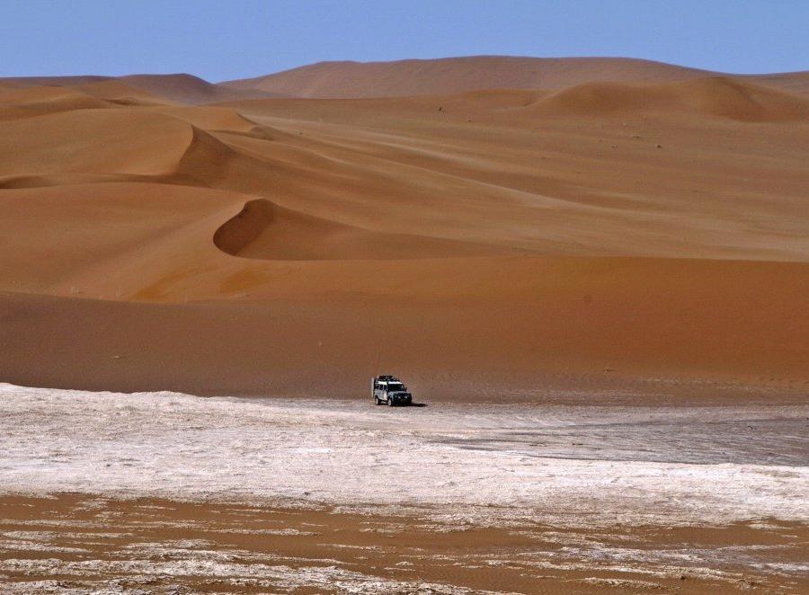 Reise in Iran, Wüste Lut – Riesendüne