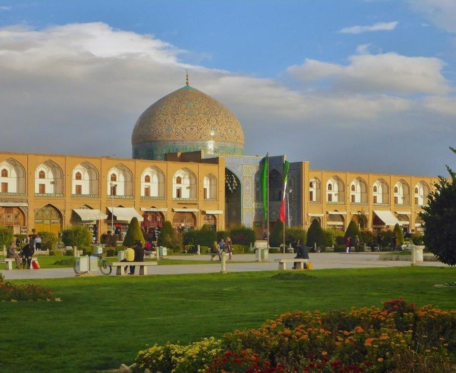 Reise in Iran, Scheich Lotfollah Moschee Isfahan