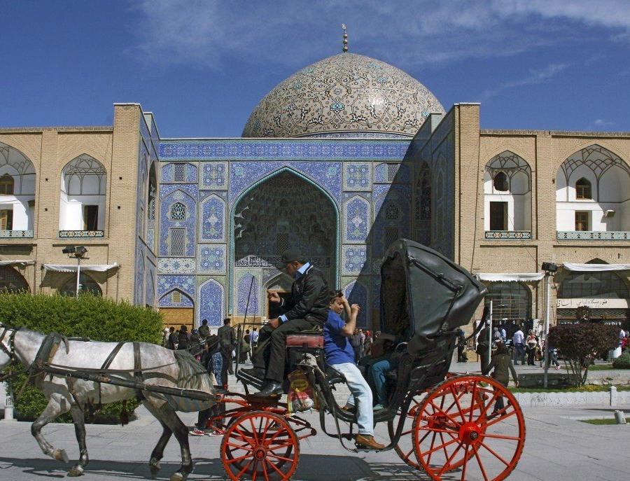 Reise in Iran, Meidān-e Emām (Platz des Imams)