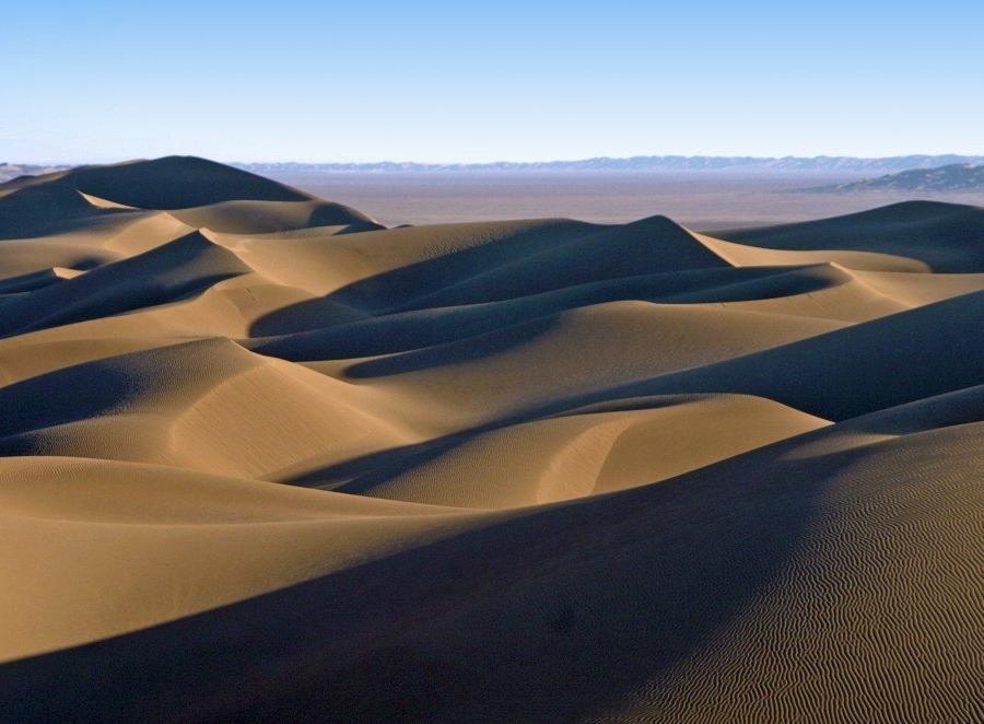 Reise in Iran, Wüste Lut – Sanddünen