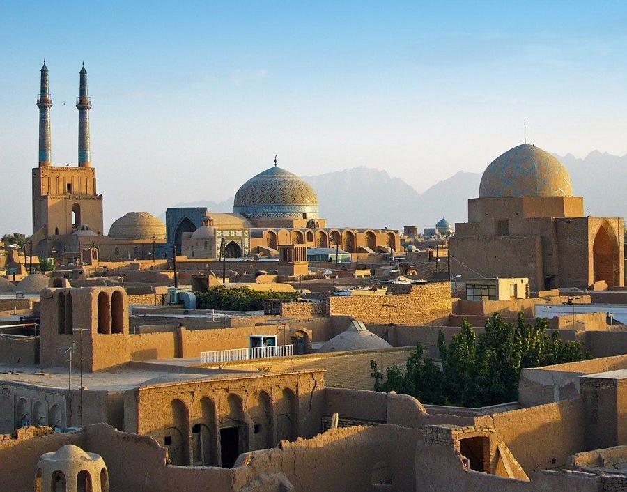 Reise in Iran, Stadt Yazd