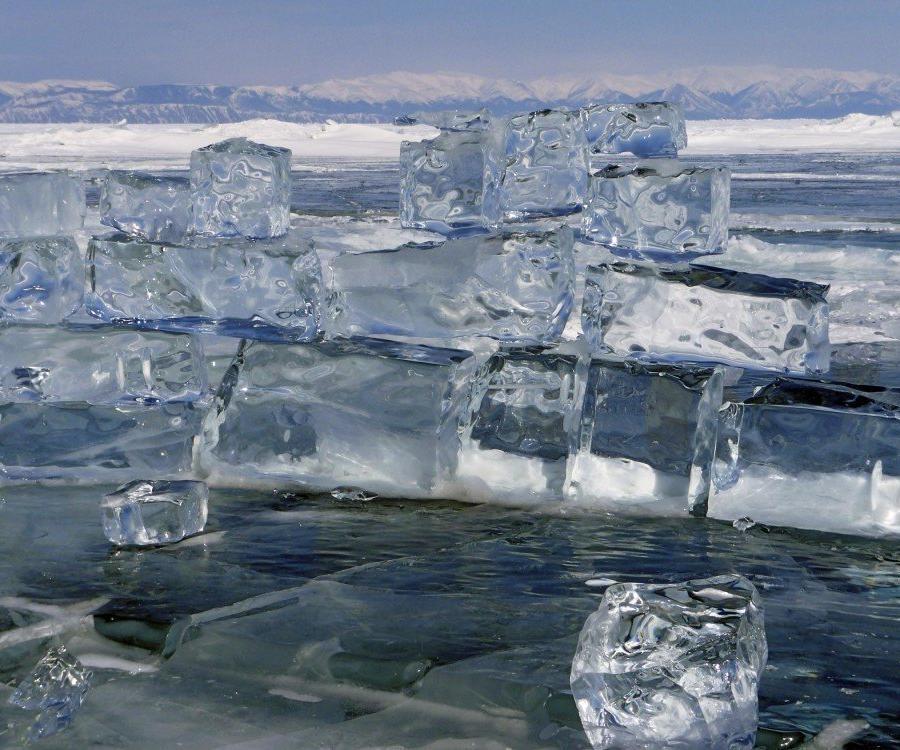 Reise in Russland, Eisskulpturen