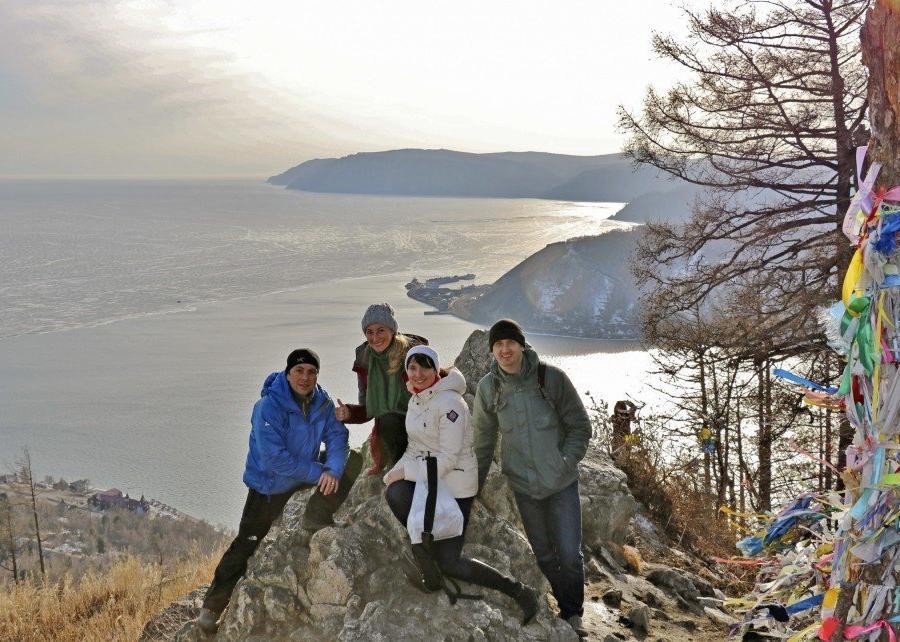 Reise in Russland, Blick vom Chersky Stein