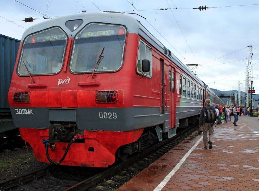 Reise in Russland, Touristenzug der Baikal-Bahn