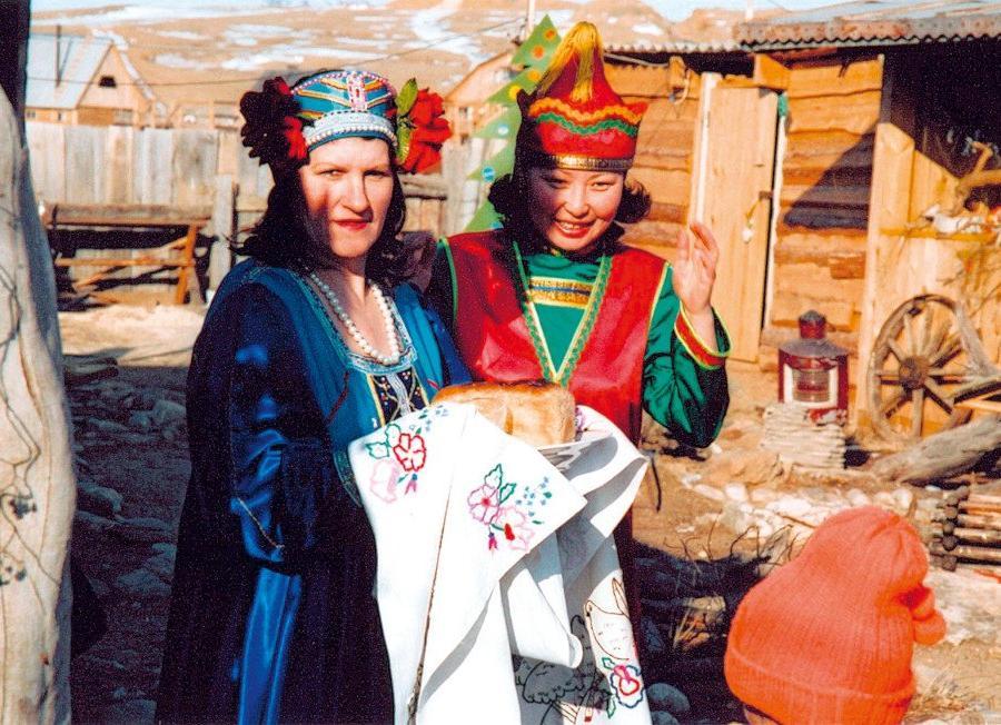 Reise in Russland, Blick zum Schamanenfelsen