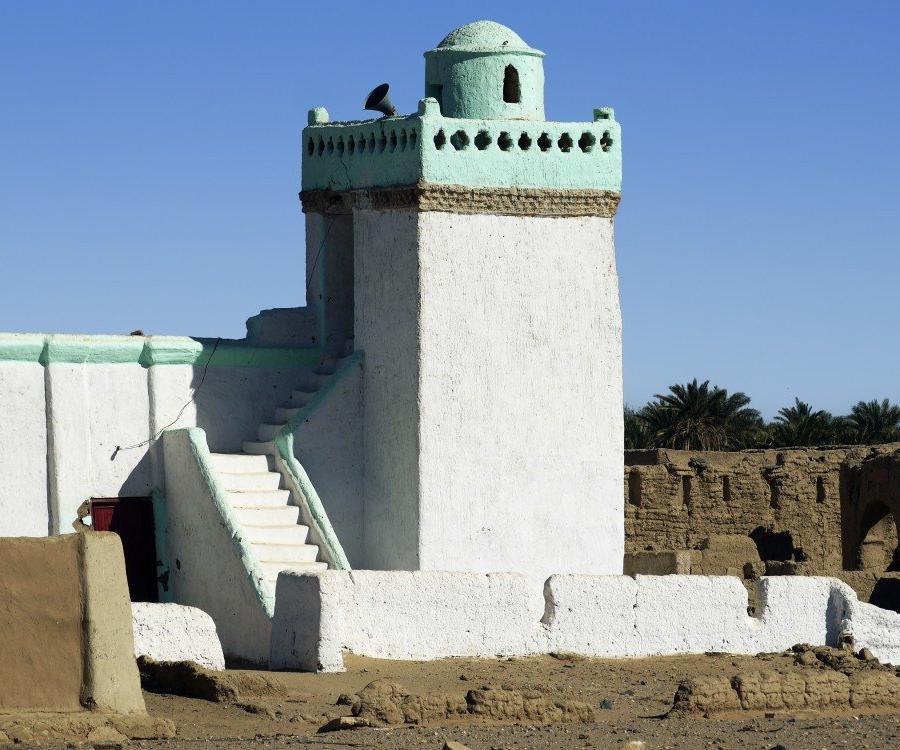 Reise in Sudan, nubische Moschee