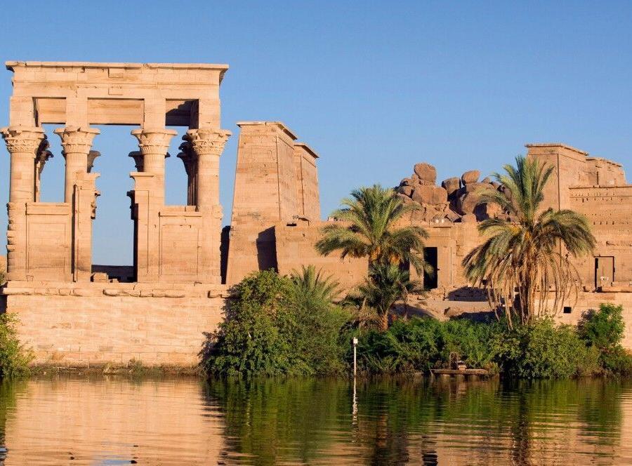 Reise in Ägypten, Assuan Philae-Tempel