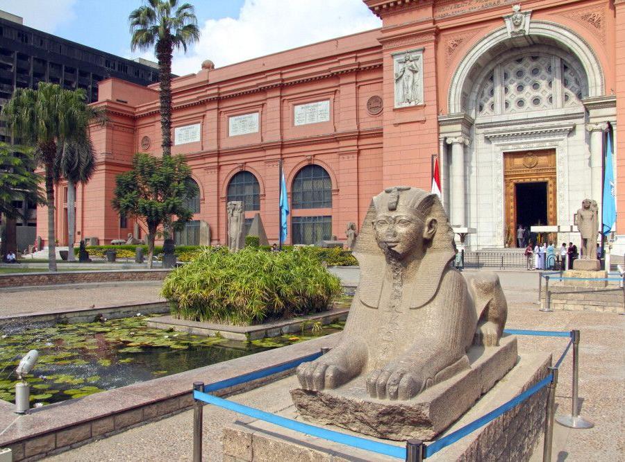 Reise in Ägypten, Kairo_Ägyptischen Museum