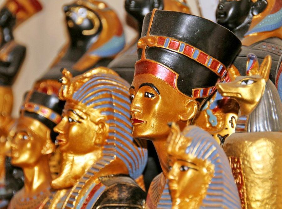 Reise in Ägypten, Pyramiden von Gizeh